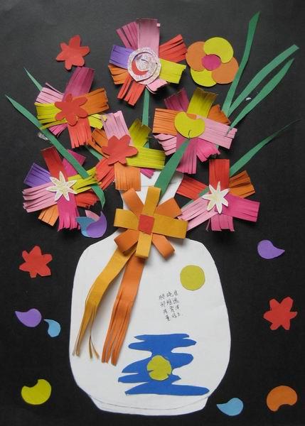 儿童彩纸创意手工制作大全方法图片